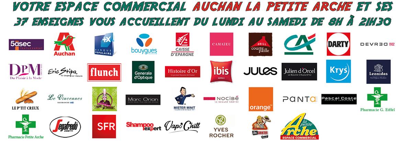 Votre espace commercial Auchan La Petite Arche